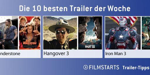 Die zehn besten Trailer der Woche (9. März 2013)