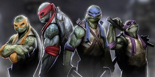 """""""Ninja Turtles"""": Alle vier Krötenpanzer sind mit Jungstars bemannt"""