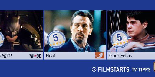 Die FILMSTARTS-TV-Tipps (5. bis 11. April 2013)