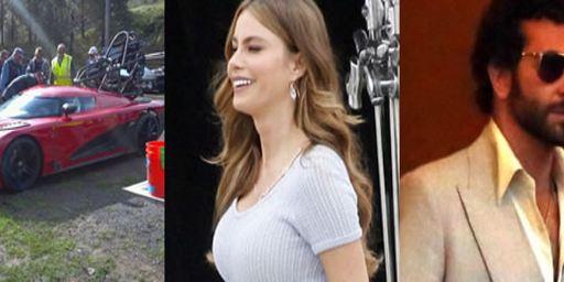 """Neue Bilder: Heiße Karren in """"Need for Speed"""", Jason Statham in """"Heat"""" und Christian Bale mit hässlicher Brille"""