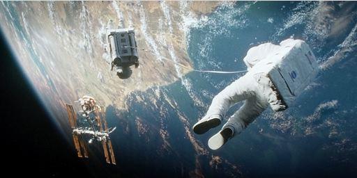 """Lob von renommierter Stelle: Astronauten-Legende Buzz Aldrin ist von der Darstellung der Schwerelosigkeit in """"Gravity"""" beeindruckt"""