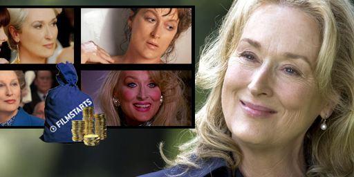 Die 10 erfolgreichsten Filme mit Meryl Streep