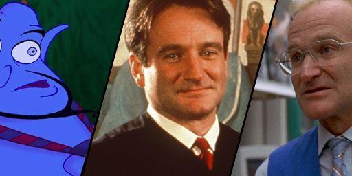 Die sieben besten Rollen von Robin Williams