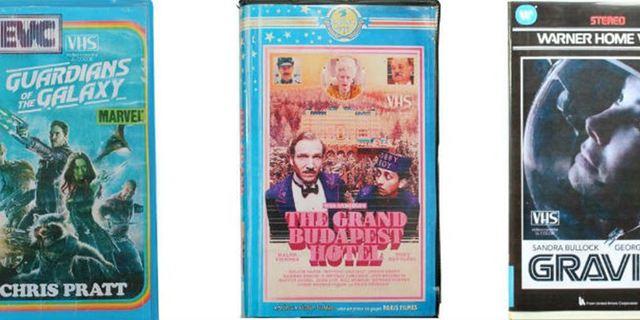 Pure Nostalgie: So sähen die Cover aktueller Blockbuster und Serien aus, wenn sie noch auf VHS veröffentlicht worden wären!