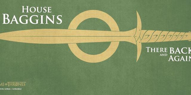 """""""Game Of Thrones"""": So würden die Familien-Banner von Spider-Man, Harry Potter, Jack Sparrow & Co. aussehen"""