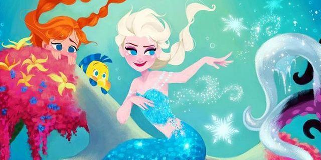 Instagram-Galerie: Disney-Prinzessinnen tauschen die Filme