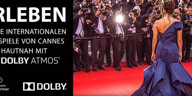 Gewinnspiel: Mit Dolby Atmos zu den Filmfestspielen von Cannes!
