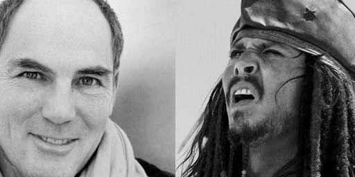 """Recht bekommen: Marcus Off erhält nun für seine Synchronisation von Johnny Depp in den ersten drei """"Fluch der Karibik""""-Filmen doch viel mehr Geld"""