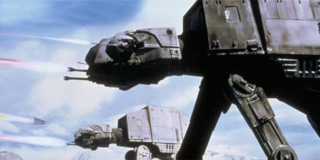 """So teuer wäre der Bau eines echten Imperialen AT-AT-Läufers aus """"Star Wars"""""""