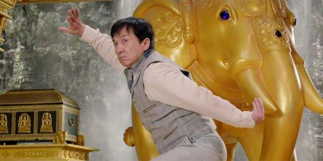 """""""Kung Fu Yoga"""": Jackie Chan ist im neuen Trailer zur Action-Komödie mit chinesischer Kampfkunst in Indien unterwegs"""
