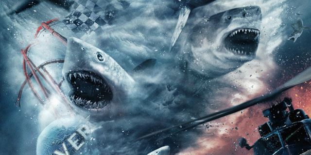 "Hai-Sturm-Warnung: ""Sharknado 5"" mit Ian Ziering und Tara Reid kommt"