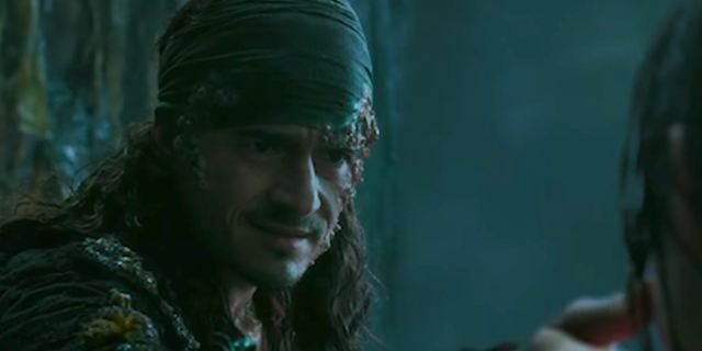 "Orlando Bloom im neuen TV-Trailer zu ""Pirates Of The Caribbean 5: Salazars Rache"""