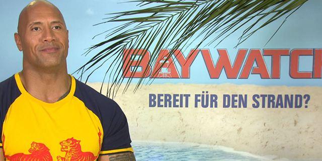 """""""Einmal mit Zac Efron rummachen"""": Das FILMSTARTS-Interview zu """"Baywatch"""" mit Dwayne Johnson"""