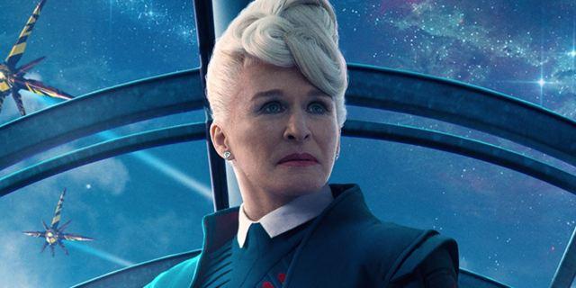"""Guardians Of The Galaxy 2"": Szene mit Glenn Close als Nova Prime wurde aus dem Film geschnitten"