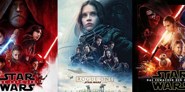 """Zur Poster-Veröffentlichung von """"Star Wars: Die letzten Jedi"""": Welches ist das schönste """"Star Wars""""-Plakat aller Zeiten?"""