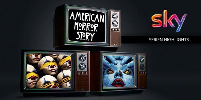 """Unser Sky-Serien-Highlight im November:  """"American Horror Story"""""""