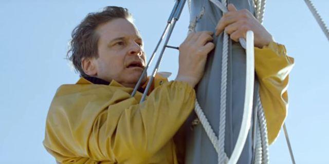 """Colin Firth als betrügerischer Seefahrer: Erster deutscher Trailer zum Biopic """"Vor uns das Meer"""""""