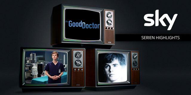 """Unser Sky-Serien-Highlight im Dezember:  """"The Good Doctor"""""""