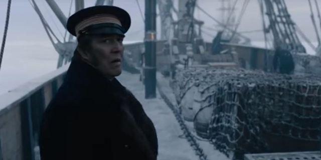"""Im Trailer zur Ridley-Scott-Serie """"The Terror"""" zittern Ciarán Hinds und Jared Harris im Eis – und zwar nicht wegen der Kälte"""