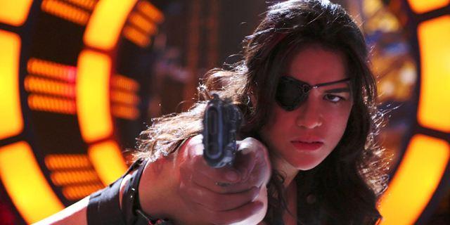 """Ballern mit Michelle Rodriguez: VR-Serie """"The Limit"""" von Robert Rodriguez macht """"Fast & Furious""""-Star zur menschlichen Waffe"""