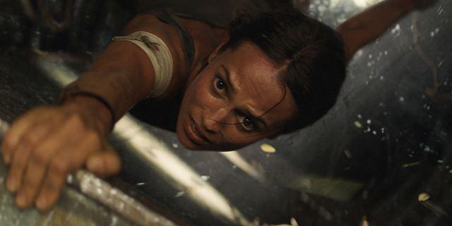 """Viele neue actiongeladene Bilder zum """"Tomb Raider""""-Reboot mit Alicia Vikander"""