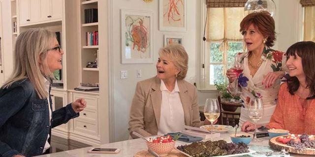 """Rentnerinnen lernen mit """"Fifty Shades of Grey"""" im deutschen Trailer zur Kino-Komödie """"Book Club - Das Beste kommt noch"""""""