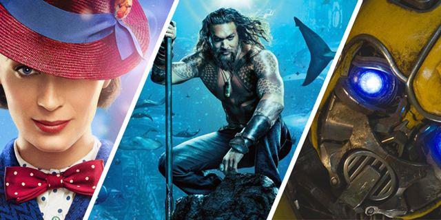 """""""Aquaman"""", """"Bumblebee"""" & """"Mary Poppins' Rückkehr"""": Das Publikum findet die Blockbuster exakt gleich gut"""