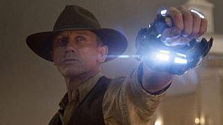"""Deutsche Posterpremiere von """"Cowboys & Aliens"""" mit Daniel Craig und Harrison Ford"""