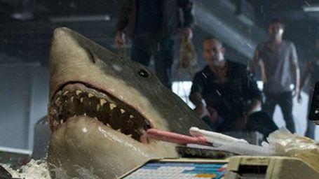 """Ein weißer Hai sorgt für Ungemach im exklusiven Filmclip aus """"Bait - Haie im Supermarkt"""""""