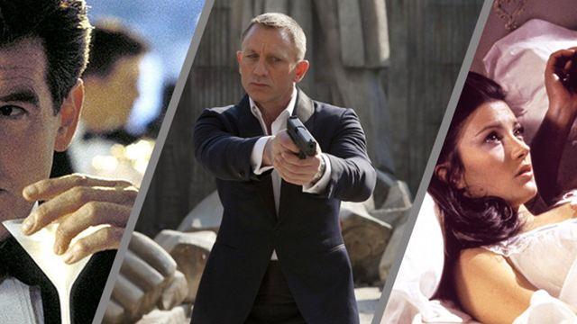 Bond-Statistik: Mit so vielen Frauen hat 007 geschlafen und so viele Martinis hat er in inzwischen 24 Filmen getrunken!