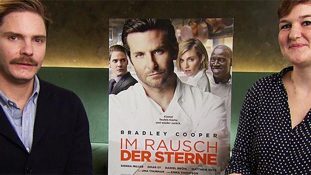 """Ein Kuss mit Bradley Cooper: Das FILMSTARTS-Interview zu """"Im Rausch der Sterne"""" mit Daniel Brühl"""