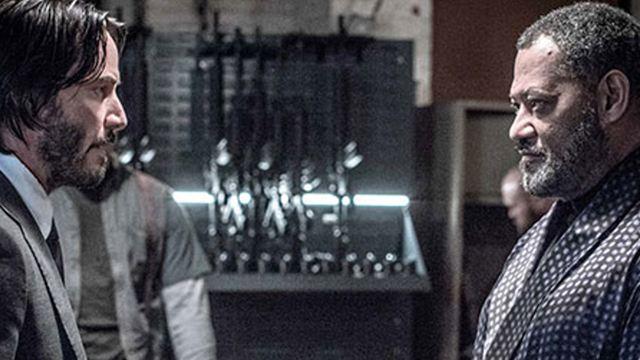 """Eine """"Matrix""""-Reunion auf neuem Bild zu """"John Wick: Kapitel 2"""""""