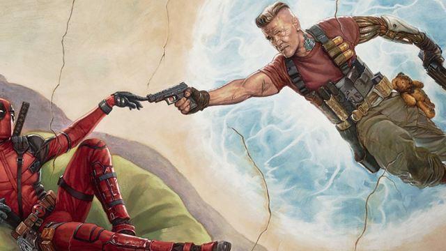 """""""Flashdance"""" im Kugelhagel: Neues Poster zu """"Deadpool 2"""""""