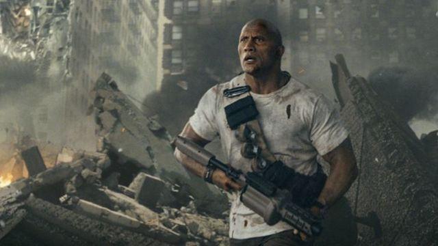"""FILMSTARTS am Set von... """"Rampage - Big Meets Bigger"""" mit Dwayne Johnson"""