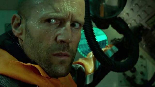 """Riesen-Hai, Riesen-Kalmar und Jason Statham: Der erste, launige Trailer zu """"Meg"""" ist da"""