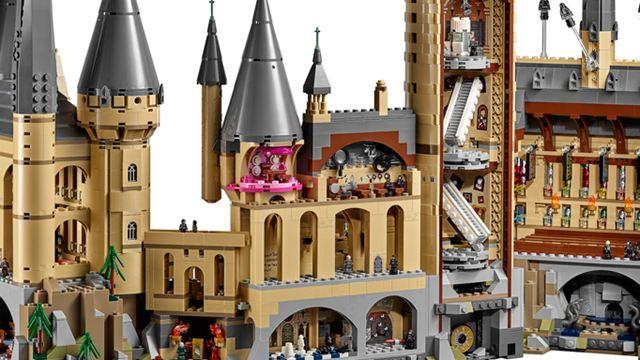 """Review zum zweitgrößten LEGO-Set überhaupt: Ist das """"Schloss Hogwarts"""" wirklich 400 Euro wert?"""