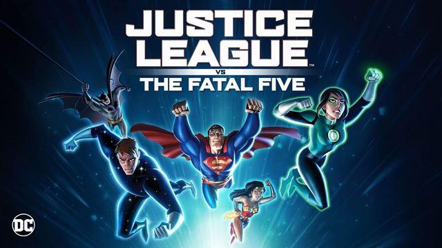 """""""Justice League Vs. The Fatal Five"""": Trailer zum neuen DC-Animationsfilm mit Batman, Superman und Wonder Woman"""