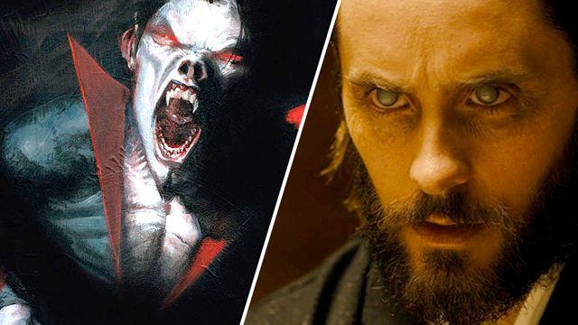 """Nach """"Venom"""" kommt """"Morbius"""": Jared Leto zeigt sich zum ersten Mal als Marvel-Vampir"""