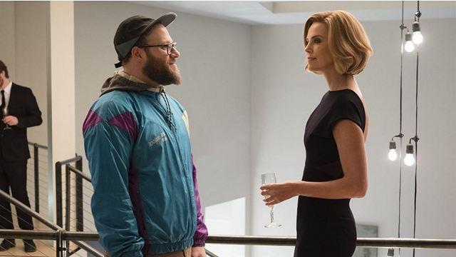"""Wie in """"Pretty Woman"""": Seth Rogen und Charlize Theron kommen sich im deutschen Trailer zu """"Long Shot"""" näher"""