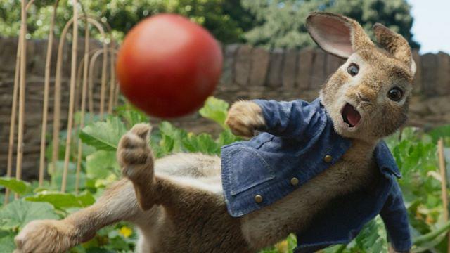 """Im deutschen Trailer zu """"Peter Hase 2"""" macht sich ein Hase vom Acker"""