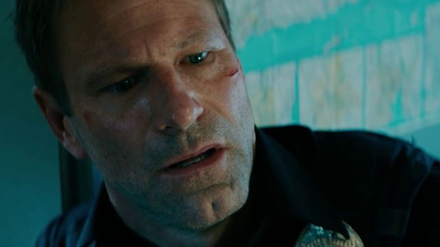 "Knallharte Cop-Action mit Aaron Eckhart: Deutscher Trailer zu ""Line Of Duty"""