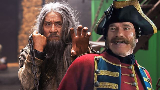 "Arnold Schwarzenegger vs. Jackie Chan: Trailer zu ""The Iron Mask"""