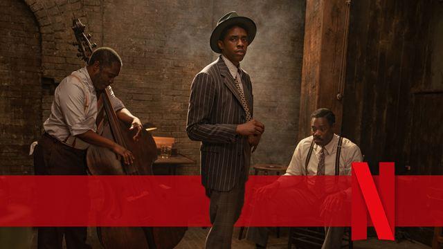 """Bald auf Netflix: Erste Bilder zum letzten Film mit """"Black Panther""""-Star Chadwick Boseman"""