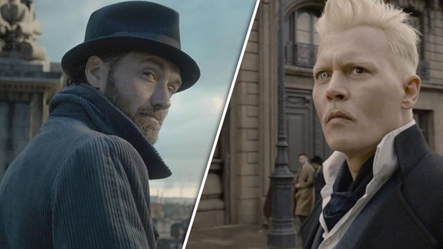 """Johnny Depp nicht in """"Phantastische Tierwesen 3"""": Das sagt Dumbledore-Darsteller Jude Law zum Rauswurf seines Co-Stars"""