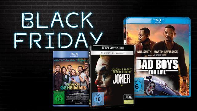 """Die besten Blu-ray-Angebote zum Black Friday bei Amazon: Aktuelle Highlights & mehr – von """"Joker"""" bis """"Bad Boys 3"""""""