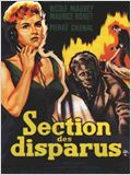 Section des disparus