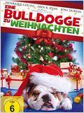Eine Bulldogge zu Weihnachten