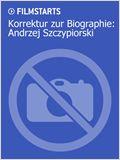 Korrektur zur Biographie: Andrzej Szczypiorski