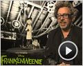 Allison Abbate, Tim Burton, Don Hahn, Catherine O'Hara, Martin Short Interview : Frankenweenie