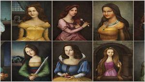 Bildergalerie: Disney-Prinzessinnen als Renaissance-Gemälde